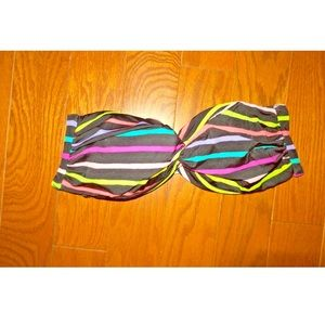 Victoria's Secret bandeau strapless bikini top